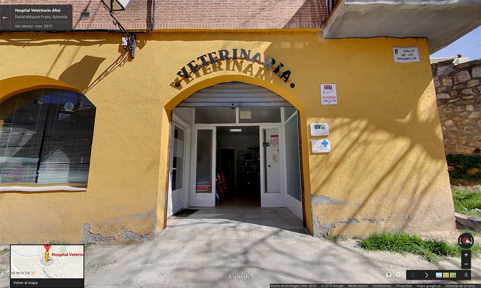 Hospital Veterinario Altai en Google Business View