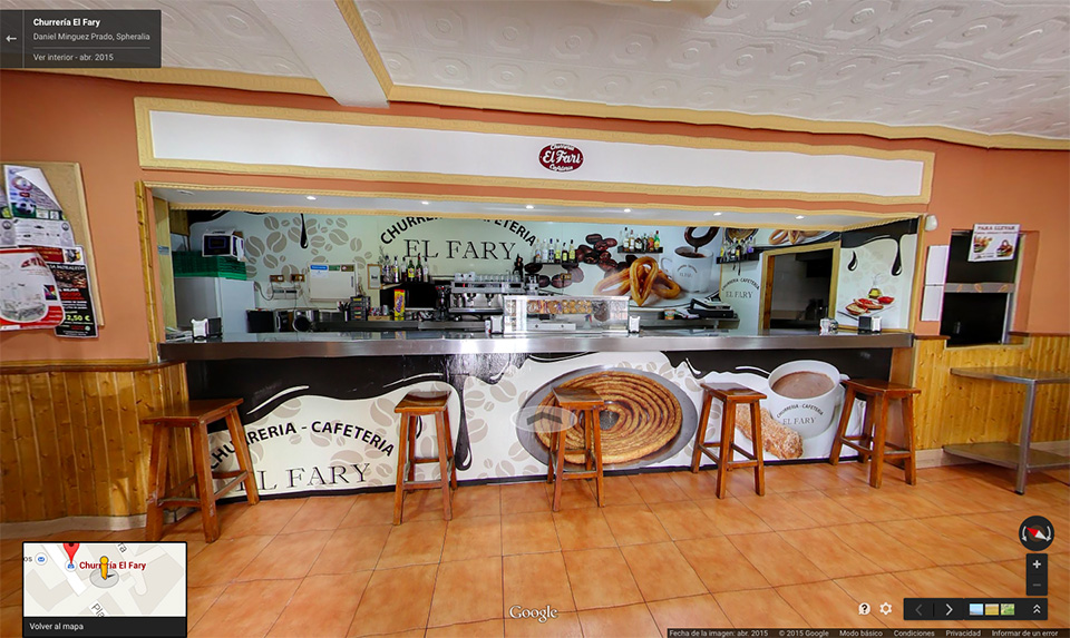 Churreria el Fary en Google Business View